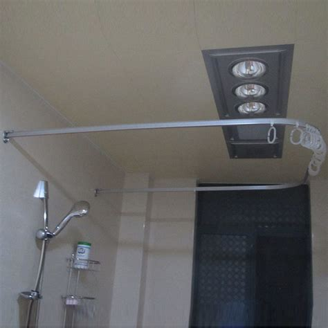 u shaped curtain pole l shaped shower curtain rod u shaped square u shaped
