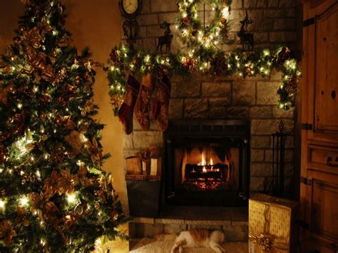 images of christmas fireplaces christmas fireplace backgrounds wallpaper cave