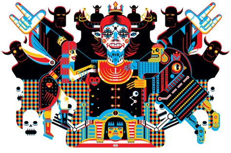 illustrator pattern exles five talented vector artists and their favourite