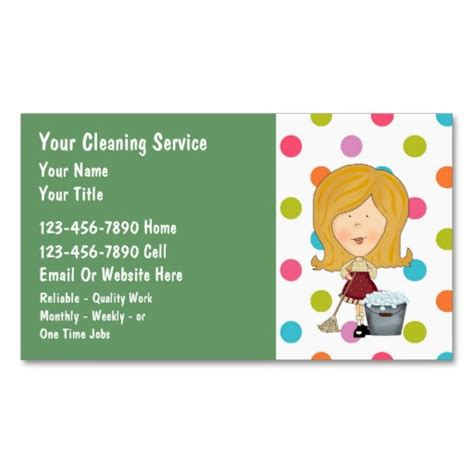 business cards for cleaning service template cleaning company quotes quotesgram