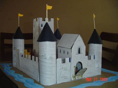 How To Make A Castle Out Of Paper - pictures of home made paper castles