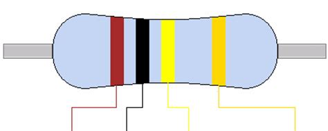 resistor color code for 1k ohm 100k 100k ohm resistor colour code