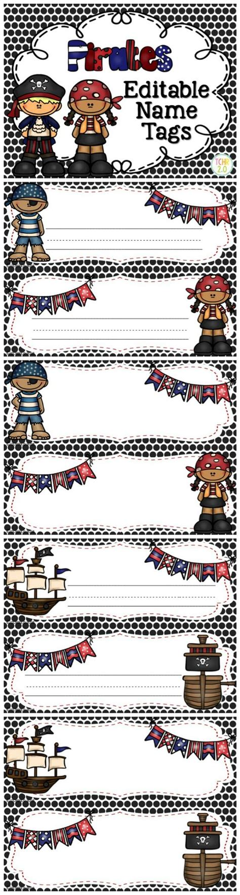 school themed names pirate name tags disney texts and pirates