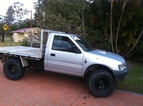 2002 holden rodeo lx 4x4 ra for sale or qld