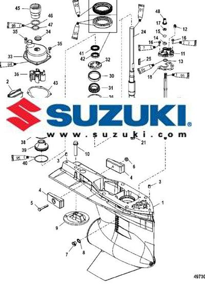 suzuki outboard parts diagrams catalog lookup