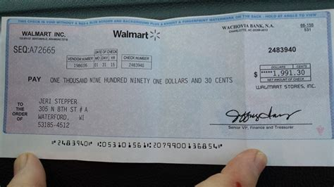 What Of Background Check Does Walmart Do How To Spot The Walmart Check Scam A Real Exle