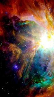 colorful galaxy colorful galaxy clouds nebulae android wallpaper