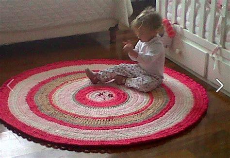 alfombra redonda de trapillo alfombra redonda tejida trapillo de algod 243 n 1 30 4