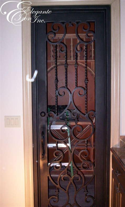 Interior Wrought Iron Doors 39 Best Wine Doors And Other Elegante Iron Interior Doors