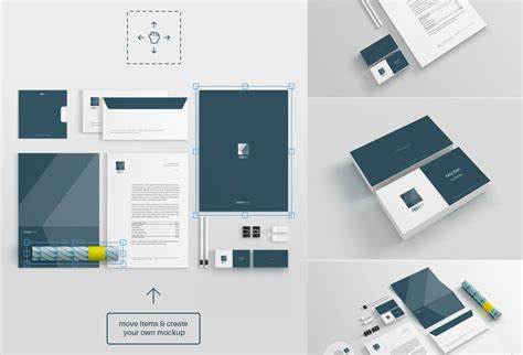 design mockup free download free stationery mockup psd graphicsfuel
