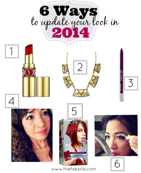8 Ways To Update Your Look by 6 Ways To Update Your Look In 2014 Thefabzilla