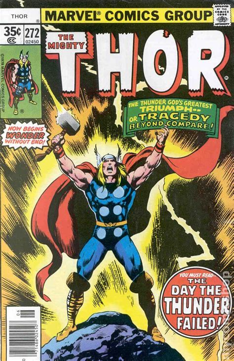 marvel s thor ragnarok the of the books thor comic books issue 272