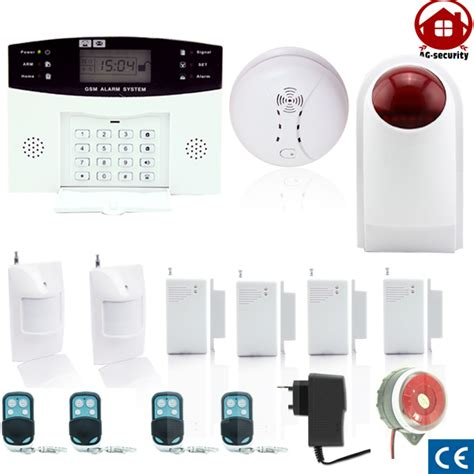gsm wireless home burglar security alarm detector sensor