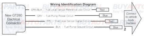 wiring diagram  precision fuel pump