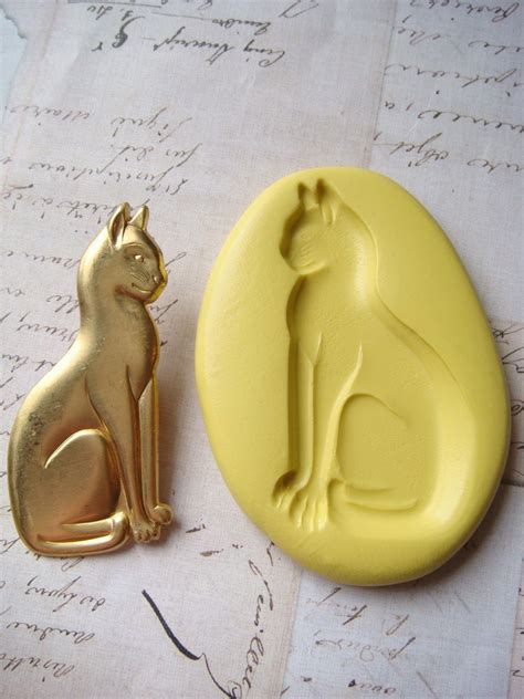 molds for jewelry cat sitting silicone mold push mold jewelry by molds