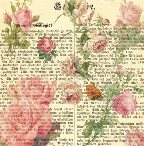 How To Decoupage With Scrapbook Paper - free decoupage vintage printables 12 x 12 inch vintage