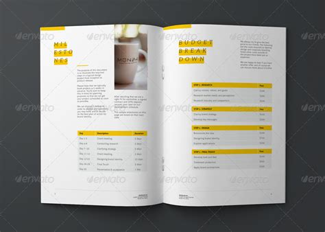graphic design layout project graphic design project proposal template by codeid