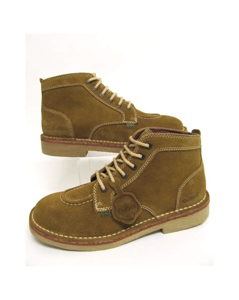 Kickers Boot Original Uk 42 kickers legendary boots in suede shoe
