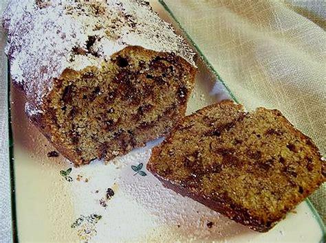 kasten kuchen saftiger schoko haselnuss kastenkuchen rezept mit