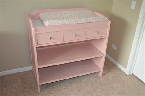Pink Pottery Barn Changing Table Claz Org Pink Changing Table