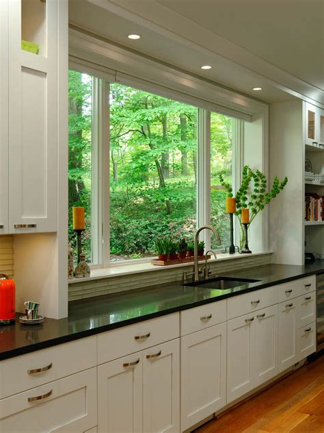 kitchen remodeling kitchen window treatments ideas