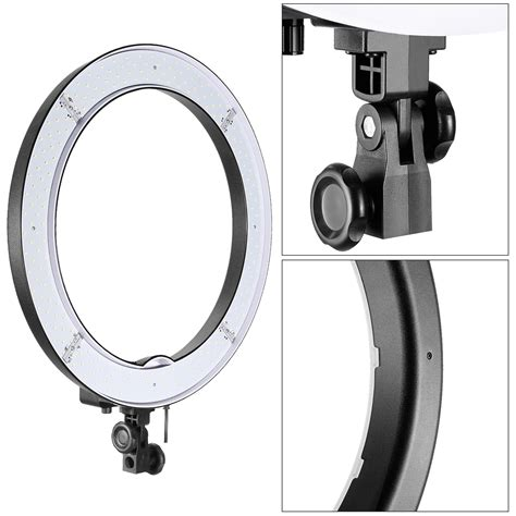 neewer led ring light neewer 18 quot 48cm dimmable led smd ring light kit for