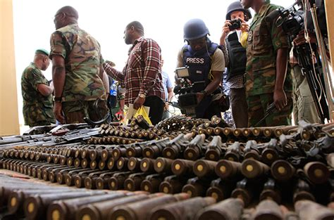 the continuing threat of boko haram books porous borders and boko haram s arms smuggling operations