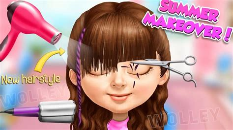 hairdresser games girl new girl haircut games haircuts models ideas