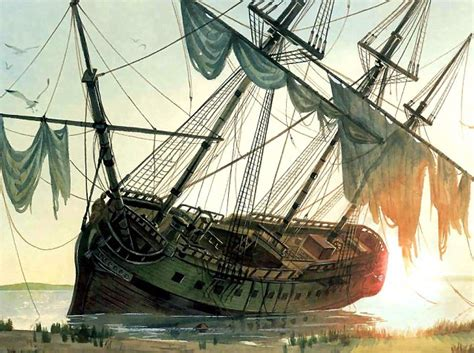 cannon used by notorious pirate blackbeard to wreak terror