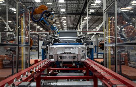 car factory electric luxury car factory in l a aims to rival tesla