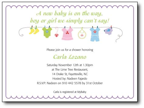 Baby Shower Invitation Wording Exles by Baby Shower Slogans Ba Shower Invitation Wording Ideas