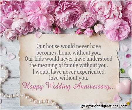 Wedding Anniversary Quotes For Husband With Images by Anniversary Invitation Sle Anniversary Card Verse