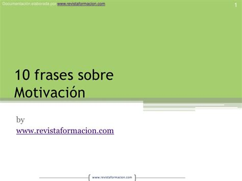 fraes iniciao ptslidesharenet 10 frases sobre motivaci 243 n