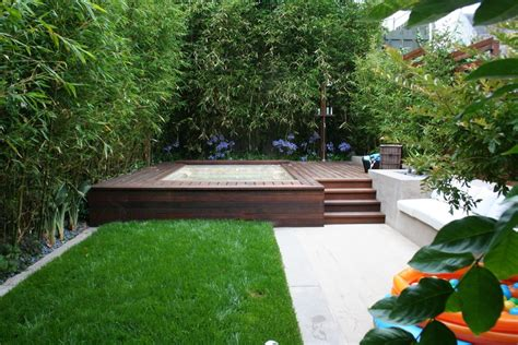 Backyard Spa Landscaping Ideas Backyard Tub Design Ideas Studio Design Gallery Best Design