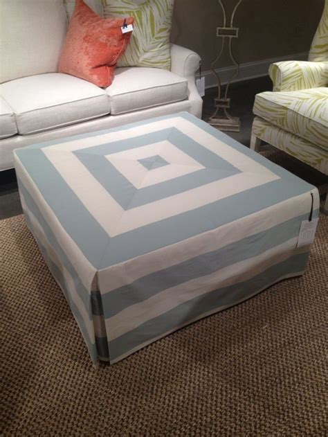 how to cover a ottoman 25 best ideas about ottoman slipcover on pinterest