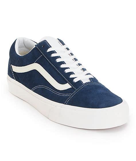 vans skool vintage dress blue skate shoes at zumiez pdp