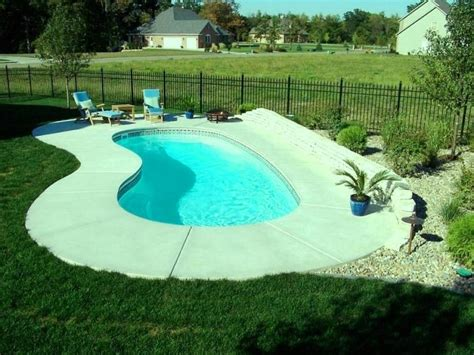 inground pool for small backyard 10 awesome swimming pools for small backyards rilane