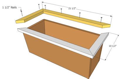 Free Planter Box Plans by Free Planter Box Plans Free Outdoor Plans Diy Shed