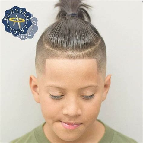 how to cut boys and kids hair at home boy long undercuts with lineup haircut kid boy line up