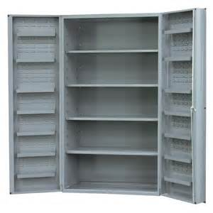 Shelf Cabinet With Doors Durham Mfg Dc48 4s14ds 95 Cabinet With 4 Shelves 4 Box Door Style Metal Cabinet Store