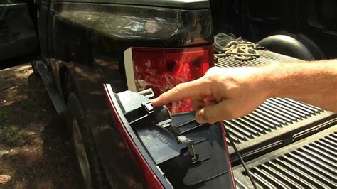 2011 nissan frontier third brake light nissan titan how to replace tail light lens or replace