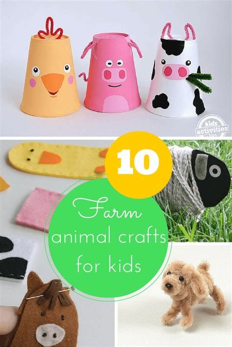 farm animal crafts for 10 farm animal crafts for