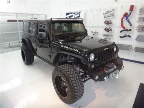 Jeep Wrangler Road Tires Find Used 2014 Jeep Jk Rubicon Wrangler Road Lifted