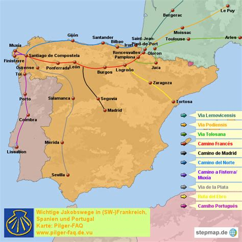 Camino De Santiago Northern Route by Spain Differences Between The Routes Of The Camino De