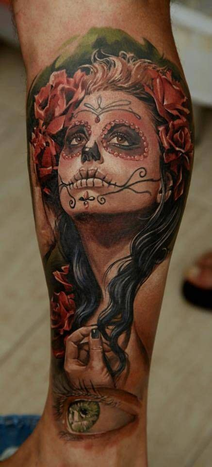 day of the dead face tattoos day of the dead 166 by artist dmitriy samohin day