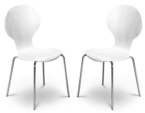kimberley white chrome dining chairs sale    price furniture