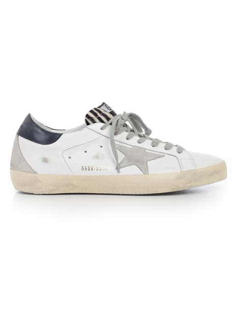 golden goose sneakers golden goose golden goose sneakers bwhite blue zebra