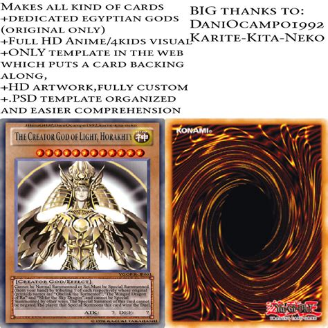 yugioh anime card template jheroghjp s yu gi oh multi card template by jheroghjp on