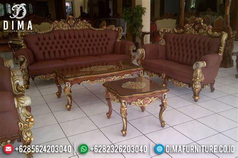 Kursi Ukir Jati Jepara 1 set kursi sofa tamu ukir jati jepara mewah klasik