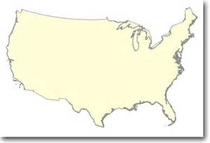 one million scale national boundaries of the united states